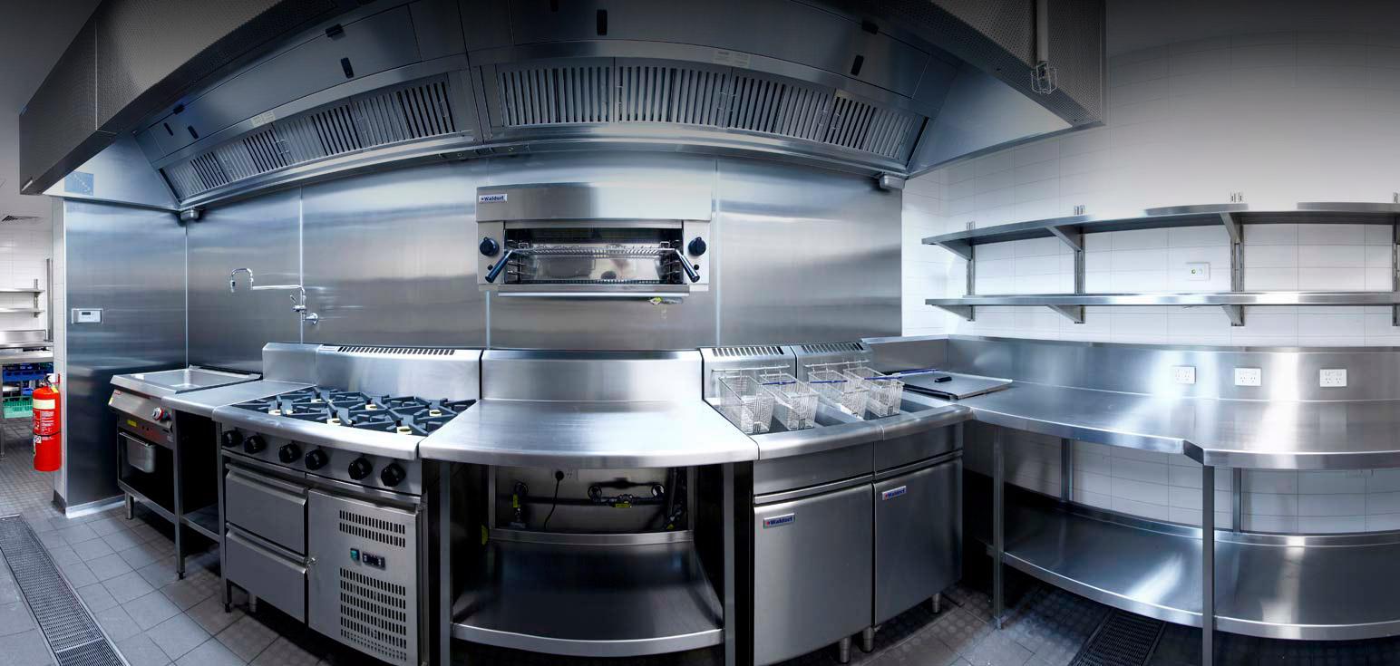 Sistema de supressão para cozinhas industriais